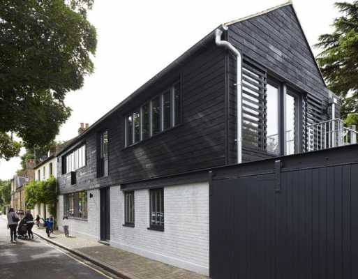 Orleans Road is a New House Built on the Site of a Former Perfume Factory