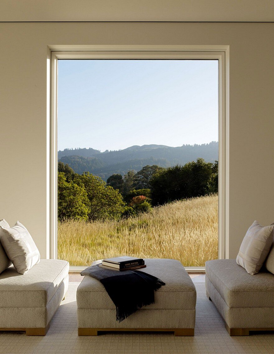 Portola Valley Barn Featuring a Rustic Exterior in Contrast with