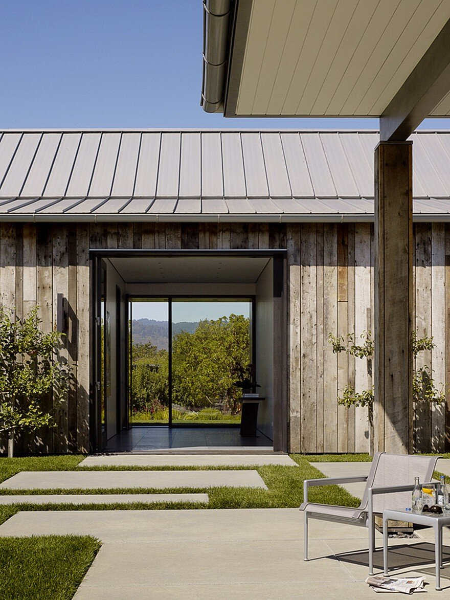 Portola Valley Barn Featuring A Rustic Exterior In