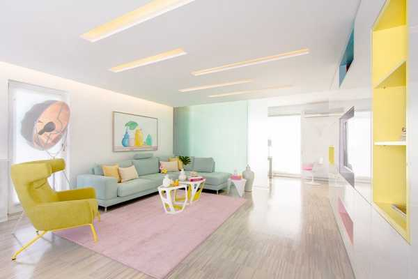 Rio Apartment is an Etheric Place Where Light is the Queen and Pastels Shine