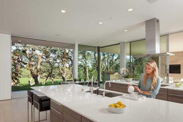 indoor outdoor living spaces exterior this vineyard house provide casual indooroutdoor living spaces