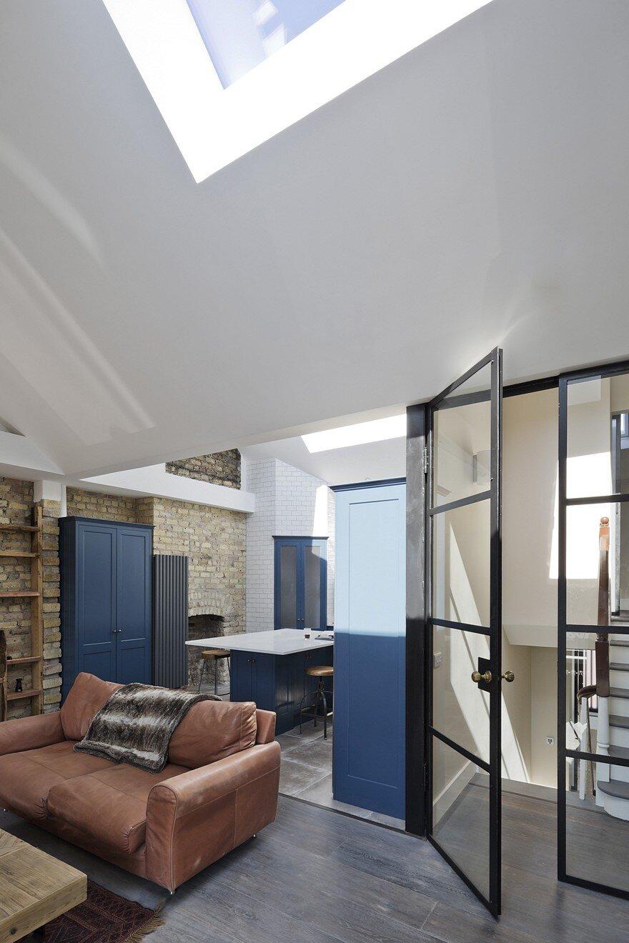 Transformation Of A Georgian Three Storey Terraced House