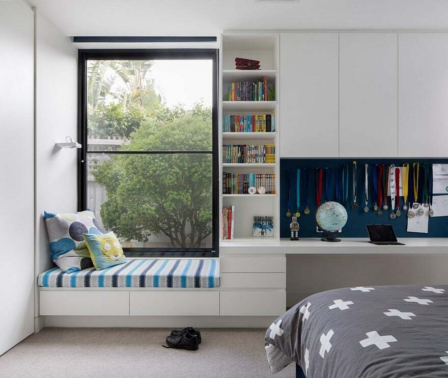 Victorian era house completely rebuilt by eco edge for Minimalist student room