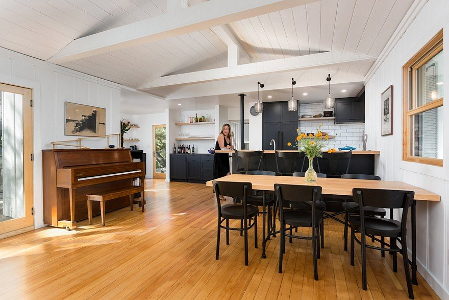 Hsu McCullough Turned a 100-Year-Old Cottage into a Modern House with Rustic Charm