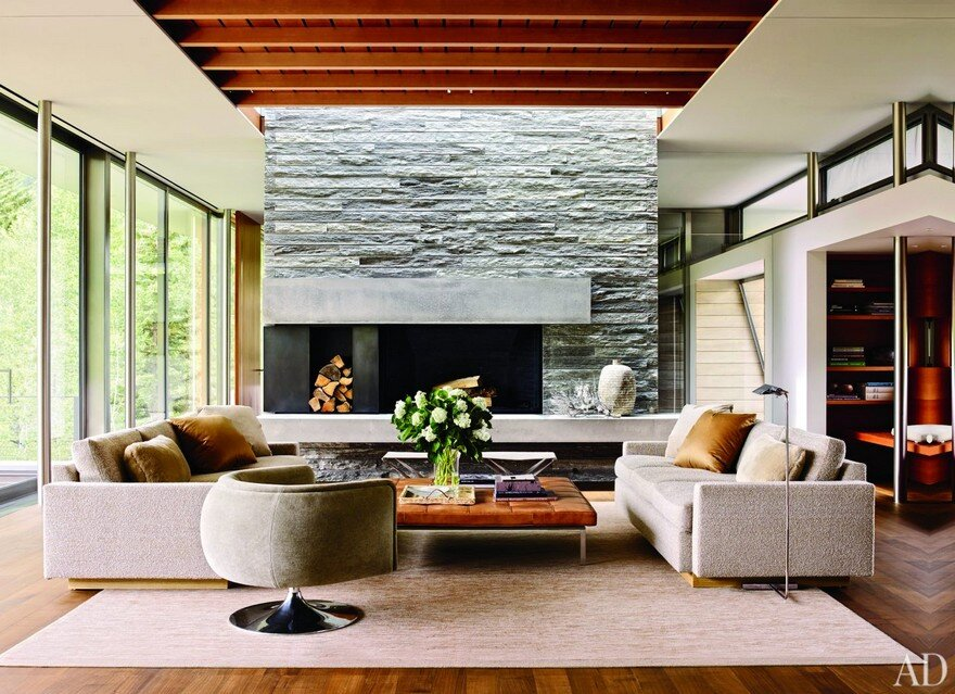 Aspen Residence With Magnificent Panoramic View Over A