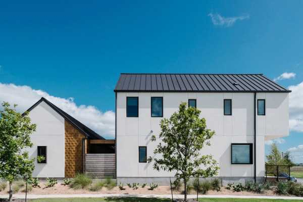 Contemporary Farmhouse Featuring Scandinavian Design and Bohemian Accents