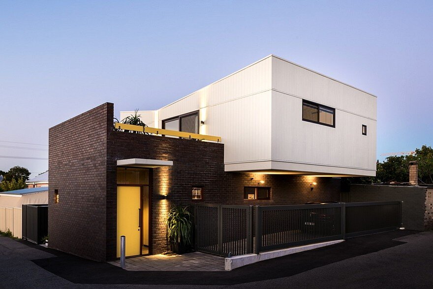 House is a Contemporary Urban Home with Warehouse Style