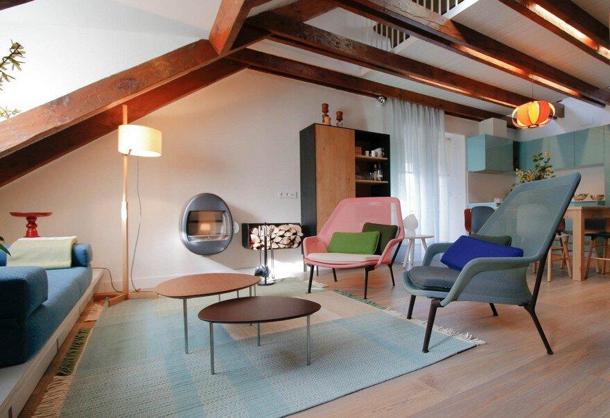Duplex Penthouse Renovation by Estudio Pedro Feduchi