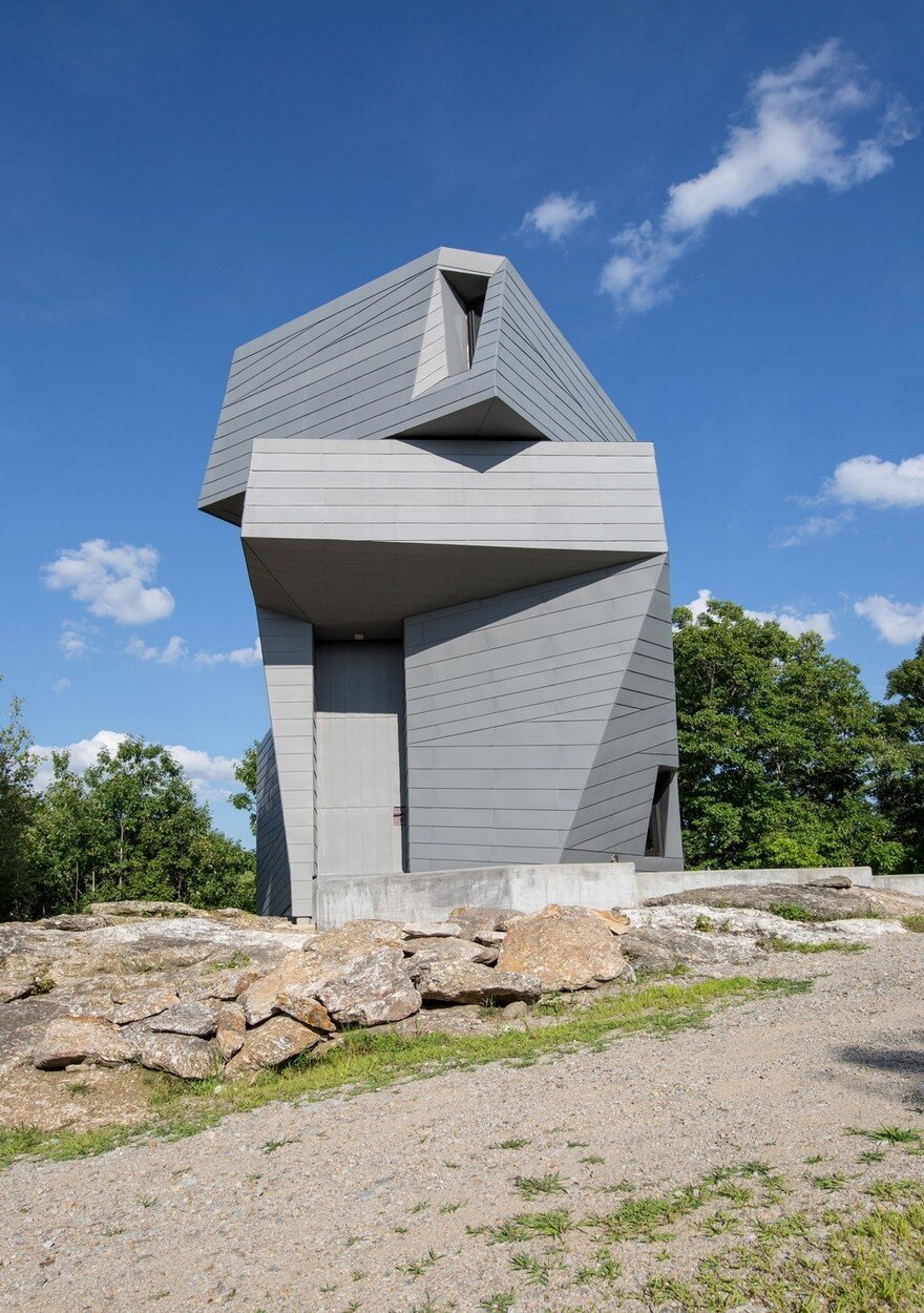 Gemma Observatory Located On A Remote Mountain Summit In