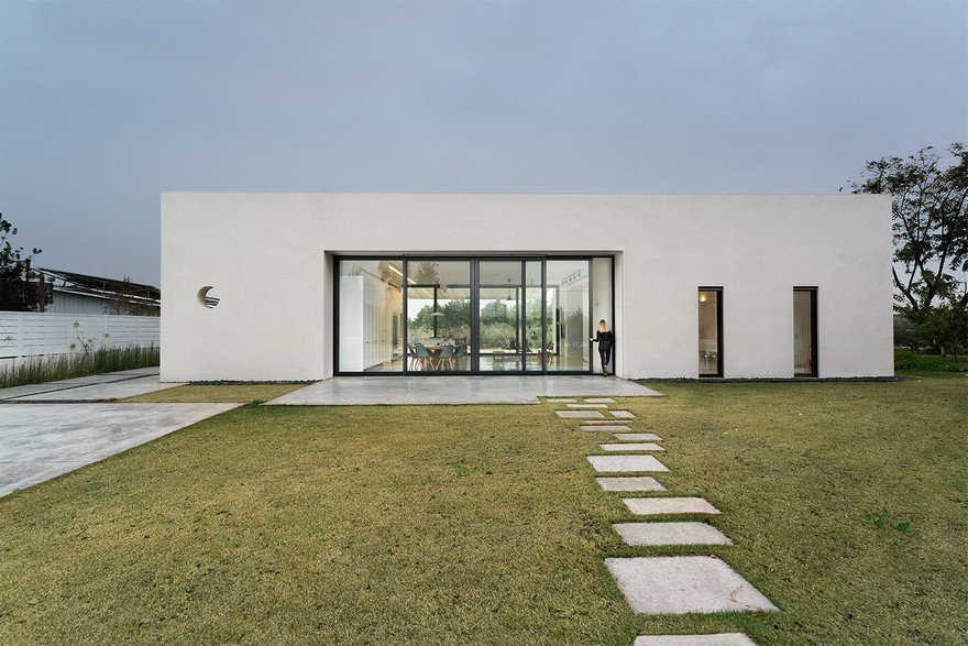 House Among Olive Grove by Henkin-Shavit Studio