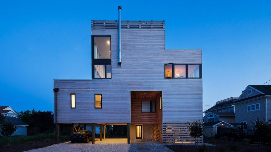Jersey Shore Vacation Home by Jeff Jordan Architects