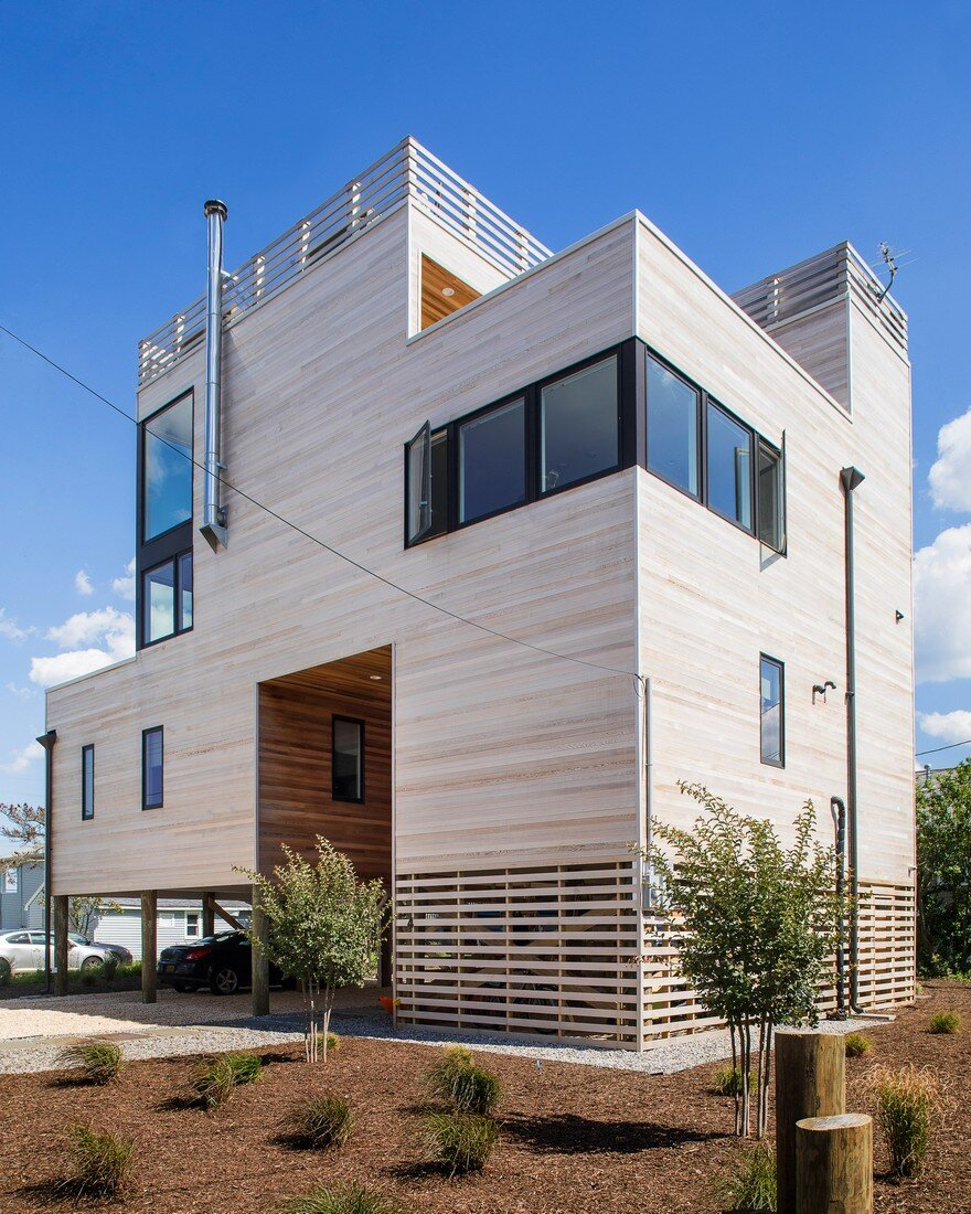 Jersey shore vacation home by jeff jordan architects for Beach house design jeffrey strnad