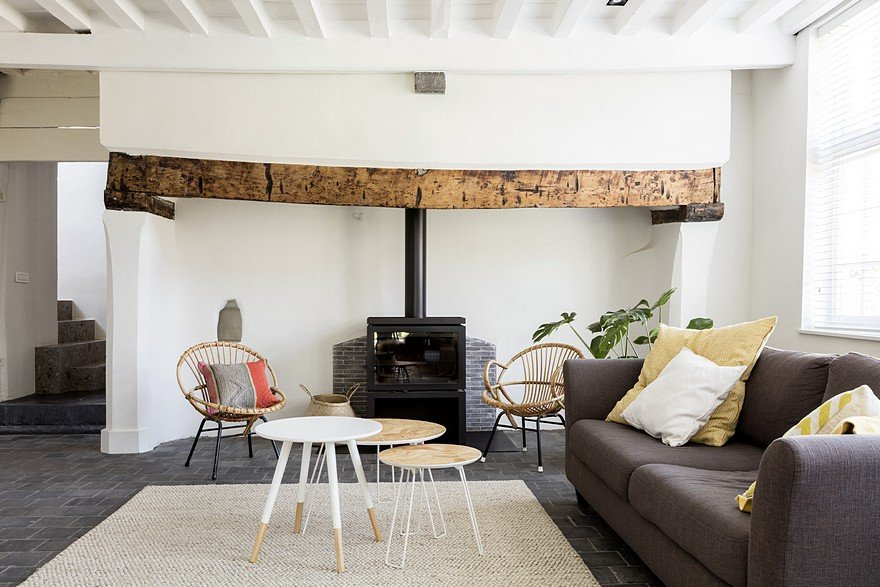 Old Rural House Revived as a Stunning Modern Home