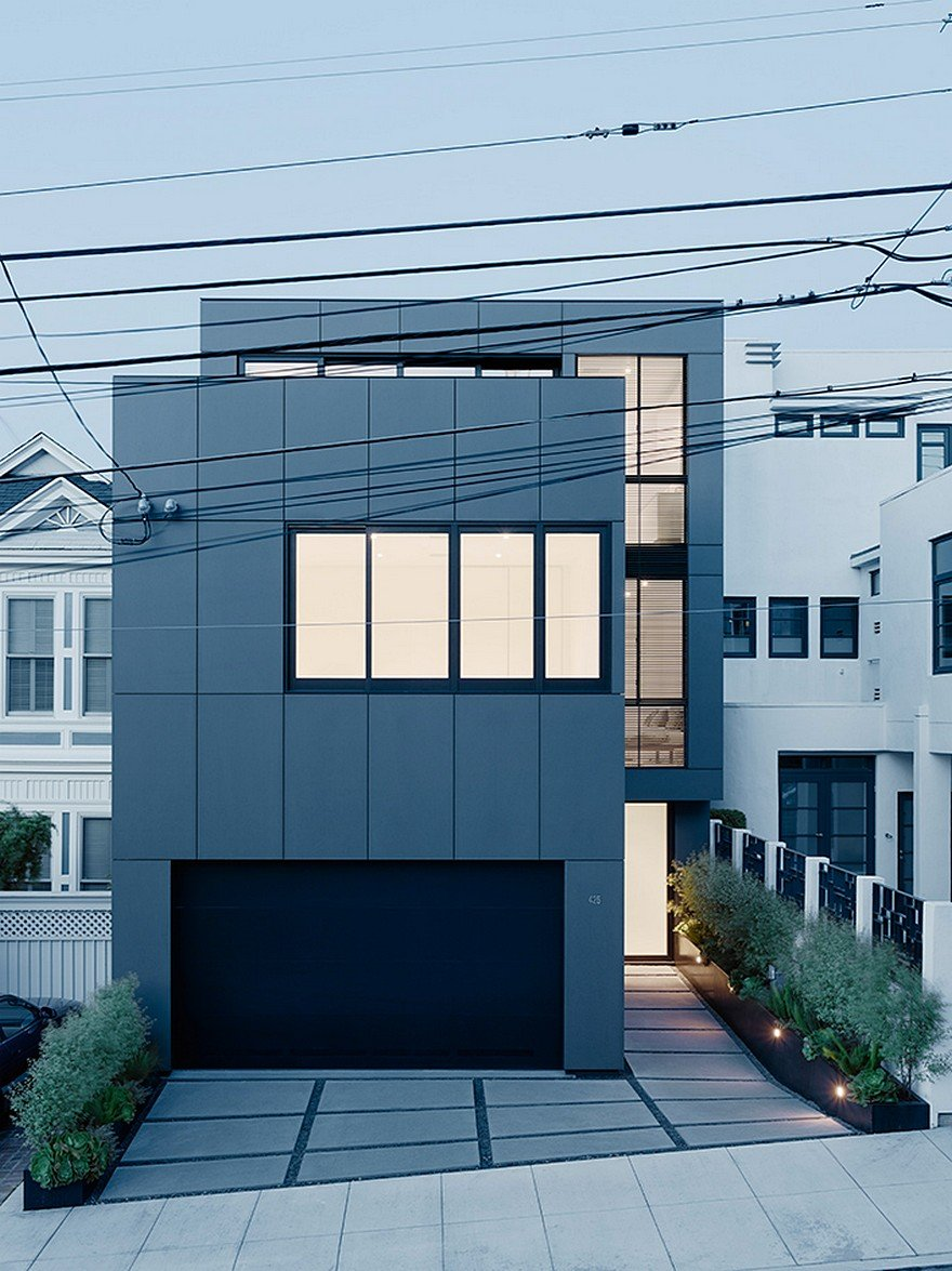 San Francisco Home With A Minimalist White Interior And A