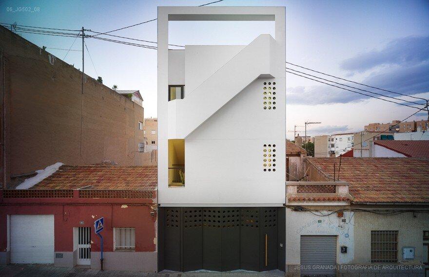 San Gabriel House by Isaac Peral Arquitectos in Alicante, Spain