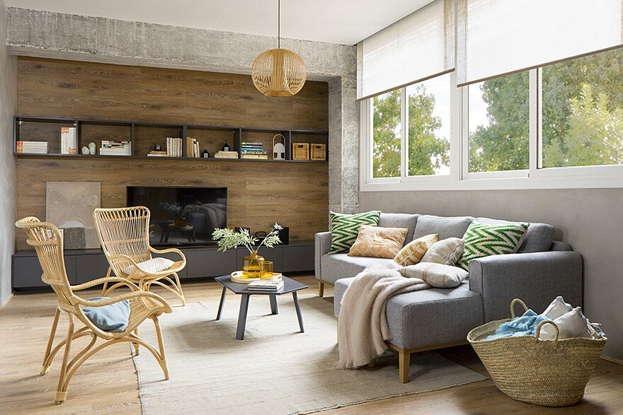 inspiring spanish apartment features raw industrial details