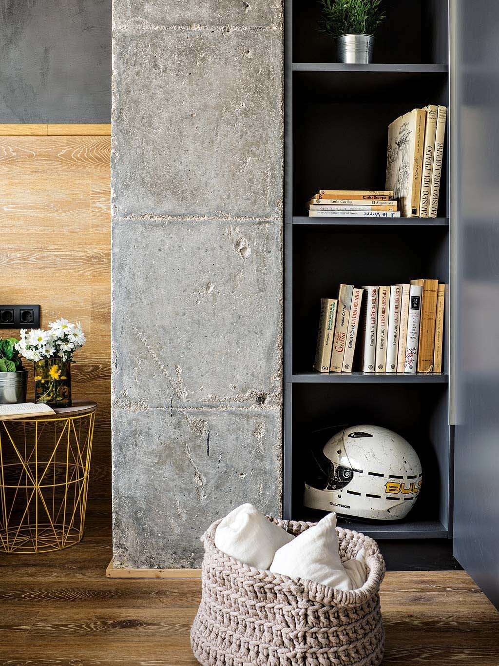 Inspiring Spanish Apartment Features Raw Industrial Details