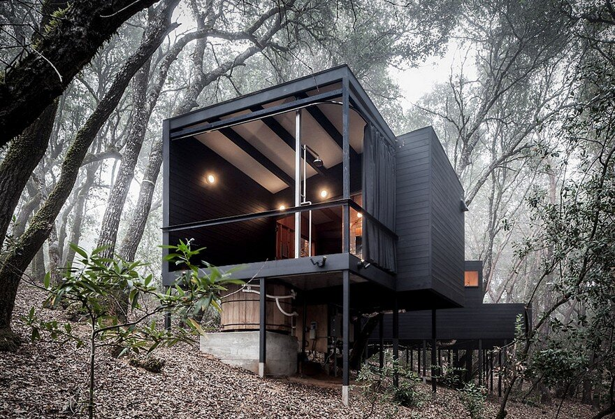 Spectacular Forest Retreat Hidden In The Forested Hills Of