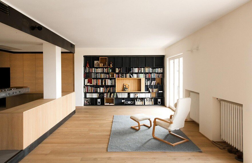 Architect luca compri combined wood and iron to modernize for Studium raumgestaltung