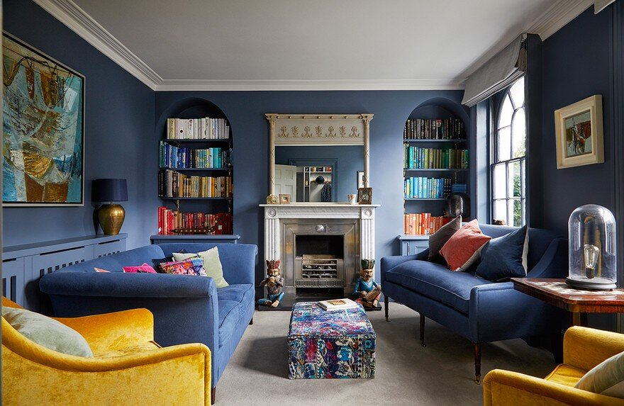 Grade II Listed Townhouse Chiswick Renovated by Slightly Quirky