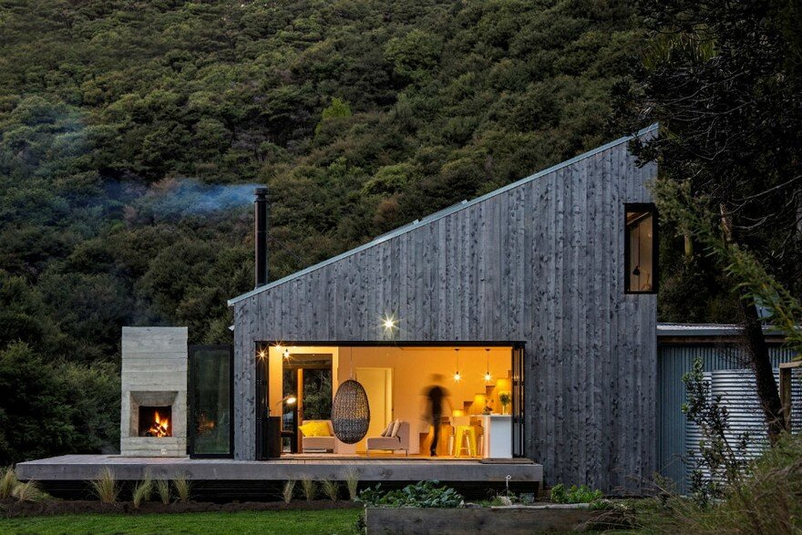 Family Retreat House Inspired By New Zealand S Backcountry