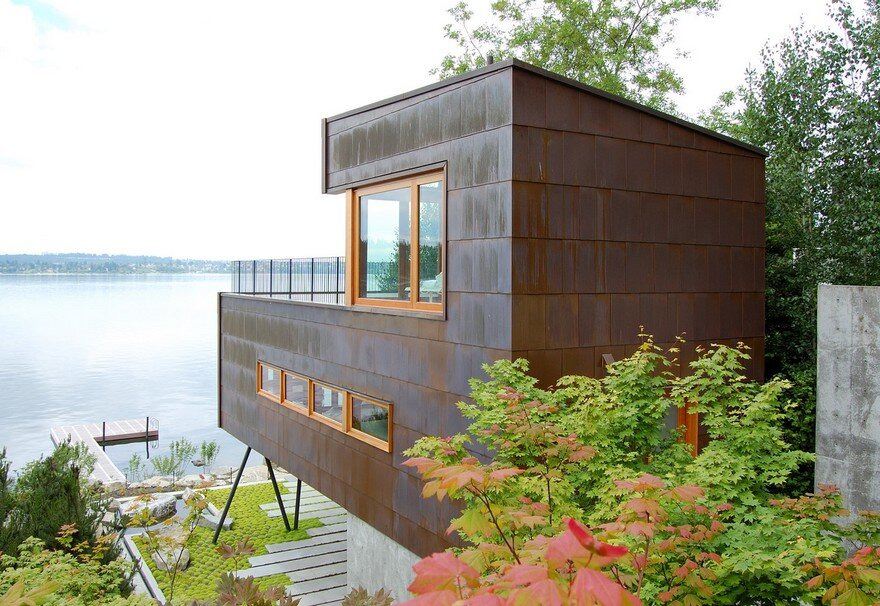 Modern Guest House on Mercer Island, Washington