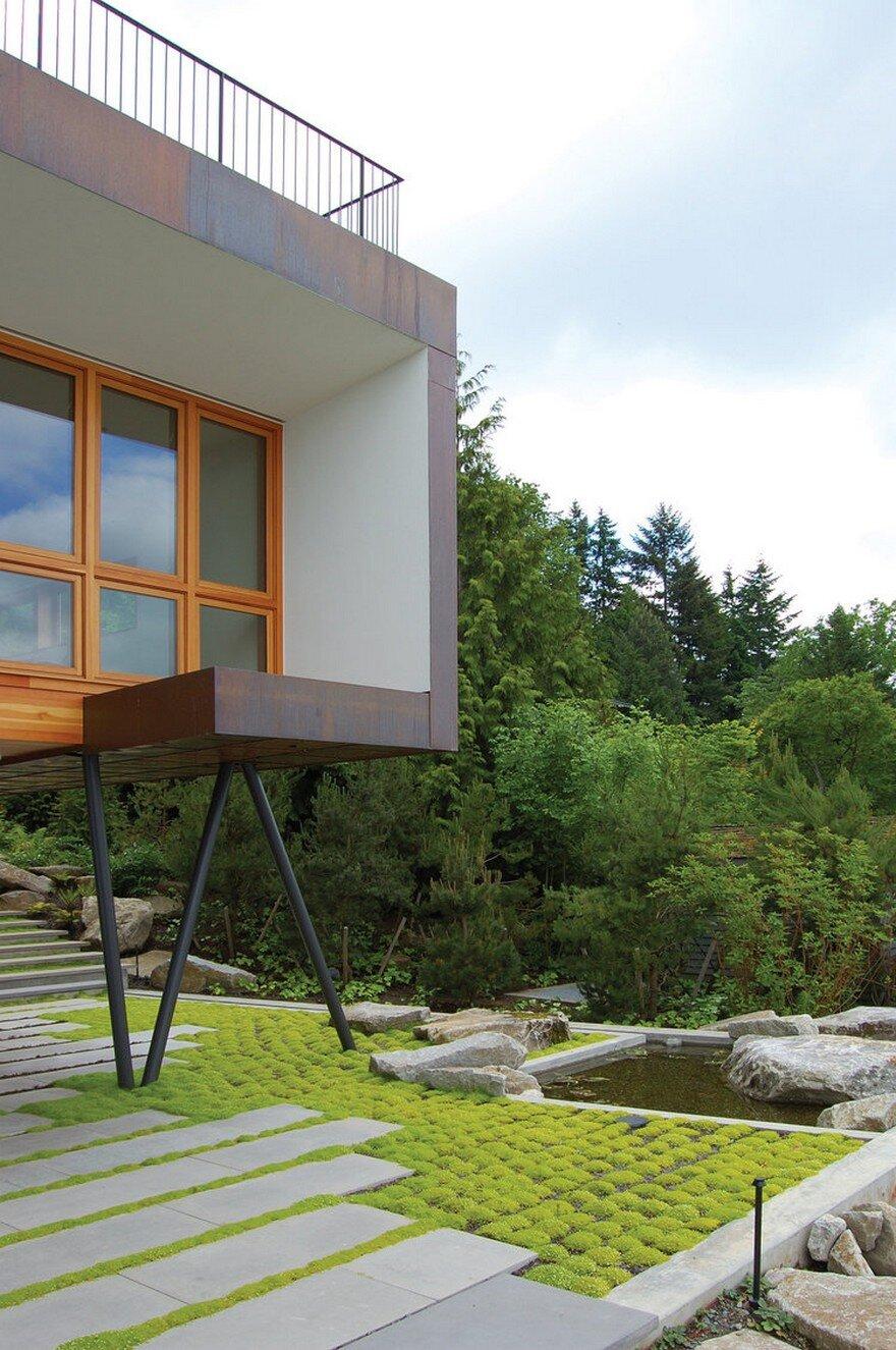 Modern Guest House On Mercer Island Washington