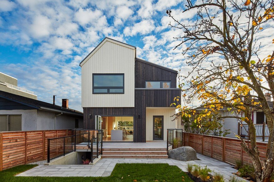 A Modern Vancouver House Clad in Cedar Shingles
