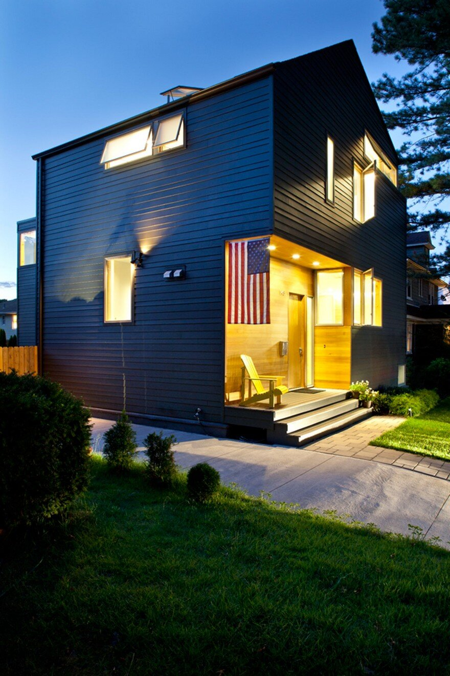 New jersey modern house with references to the traditional - What is a contemporary home ...