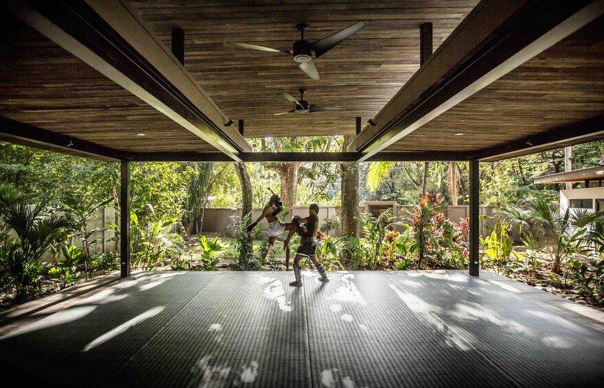 Yoga Studio and Boutique Hotel Set into in Tropical Landscape of Nosara, Costa Rica