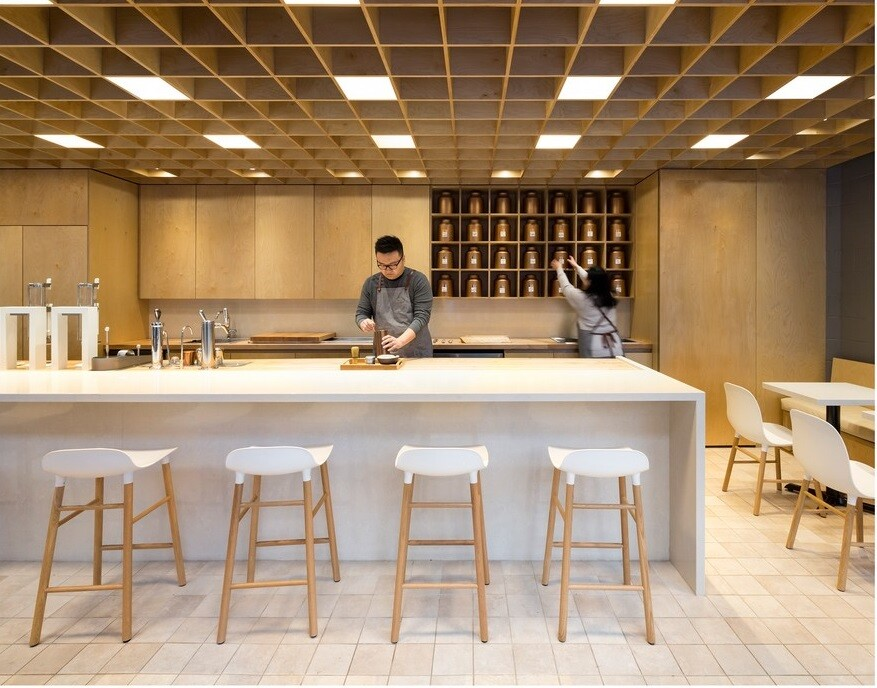 Cha Le Teahouse by Leckie Studio Architecture + Design