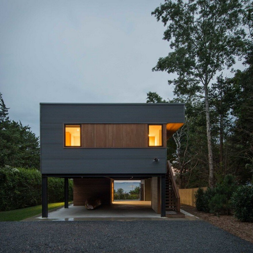 North Fork Bay House For A Young Brooklyn Family Of Four