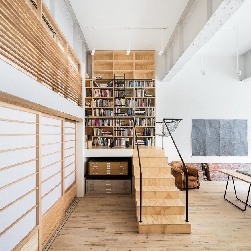 Old Carriage House Transformed Into A Live Work Studio