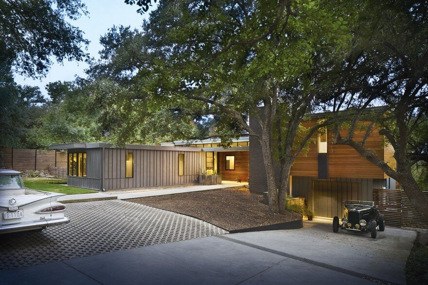 Remodel-Addition of a Mid-Century Home in Austin's Barton Hills Neighborhood