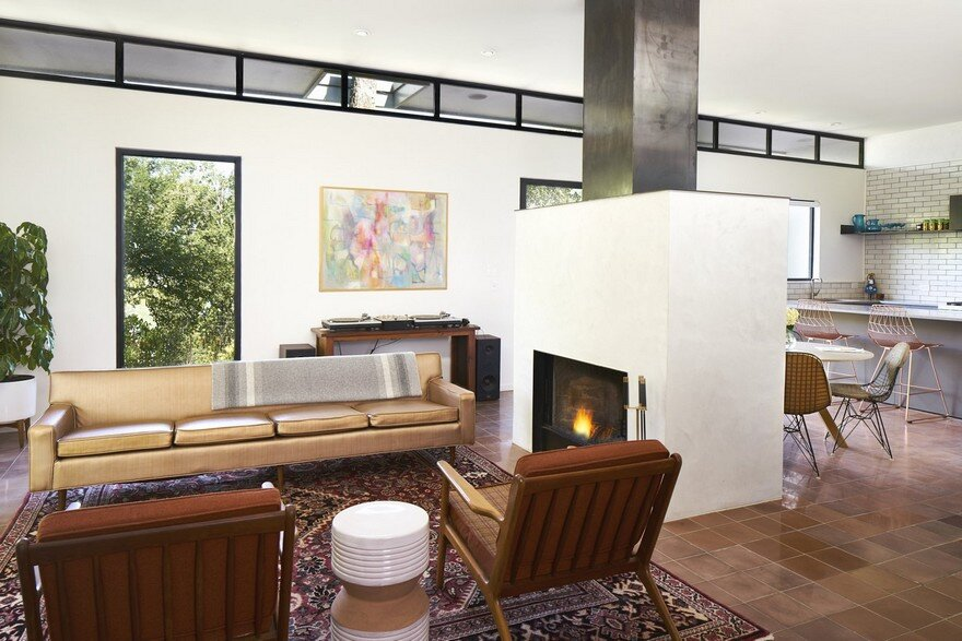 Great Remodel Addition of a Mid Century Home in Austin