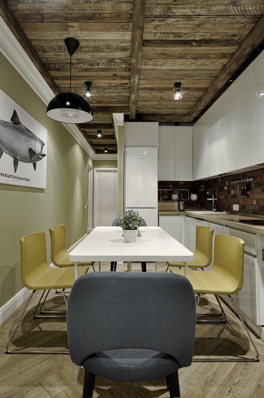 russian studio allartsdesign designed this apartment for designer