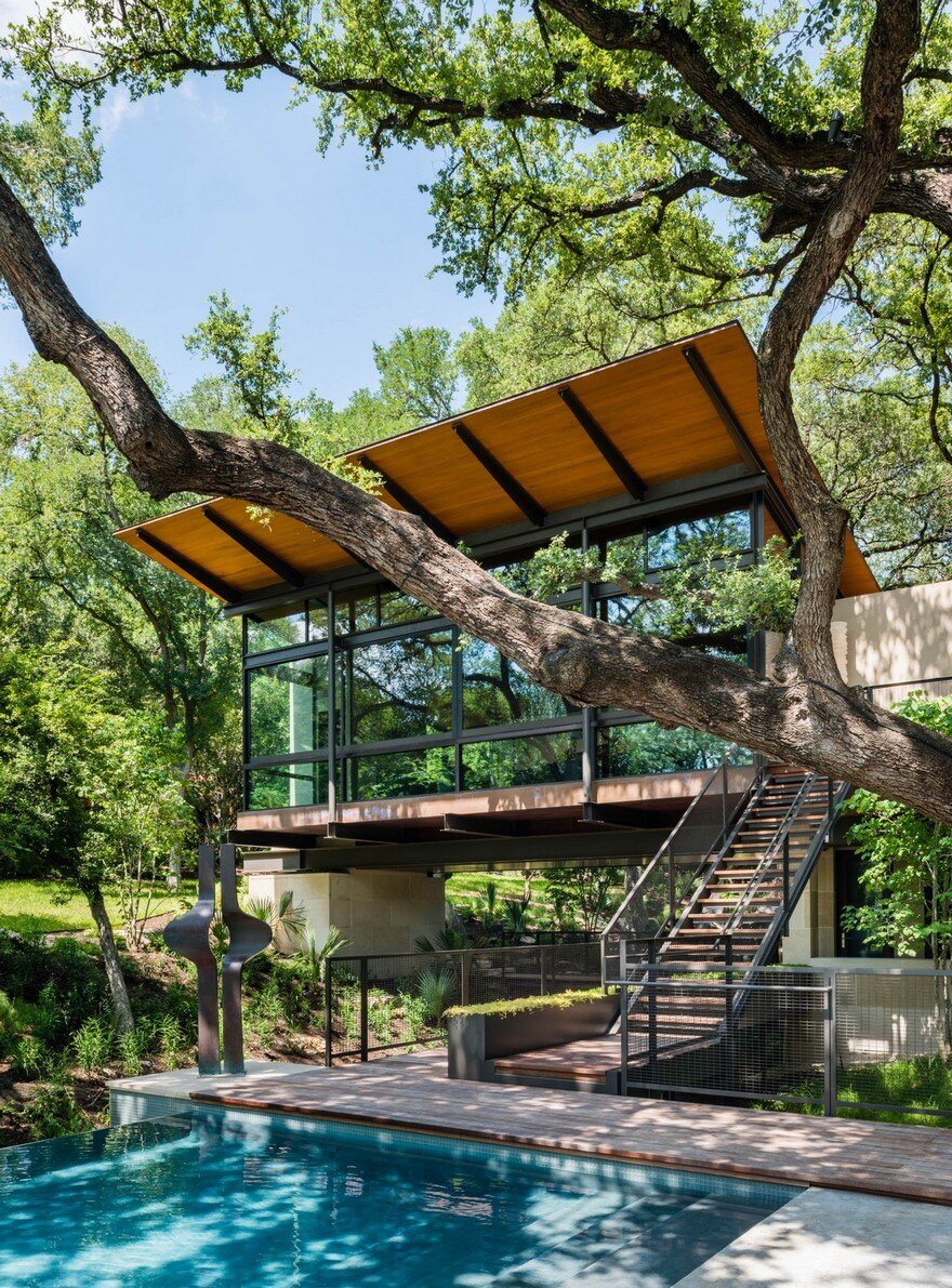 A San Antonio Retreat Designed As A Peaceful Escape From