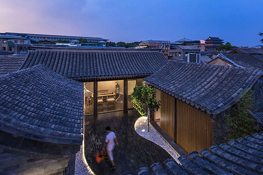 Traditional Siheyuan House Transformed Into An Attractive