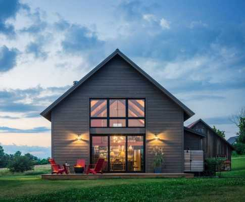 Vermont modern barn by joan heaton architects for Modern barn design