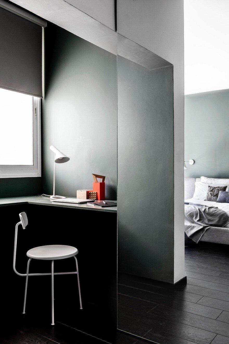 240 Sqm Duplex Apartment Transformed Into A Contemporary