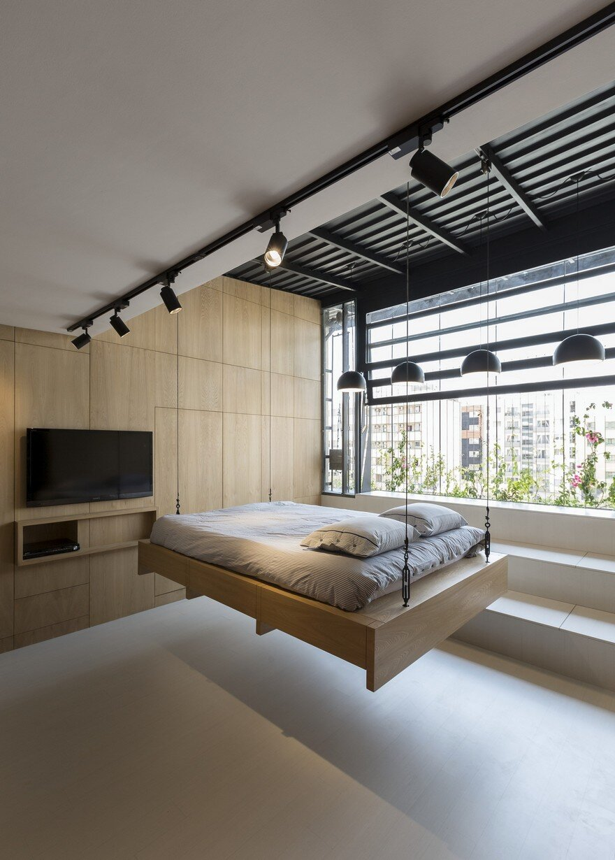 45 Sqm Roof Storage Space Converted Into A Living Space