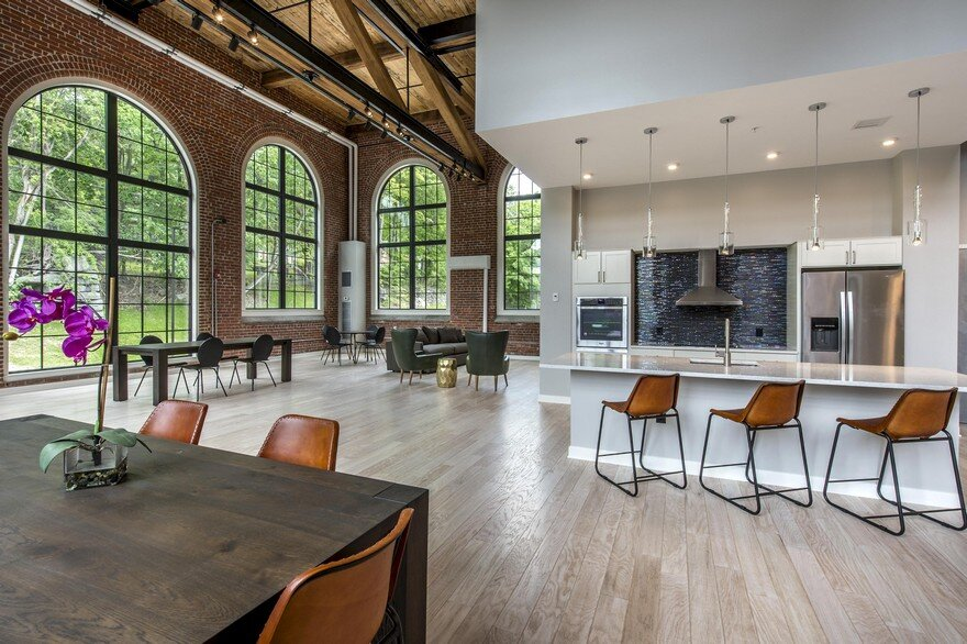 Adaptive Reuse And Restoration Of A Historic Building