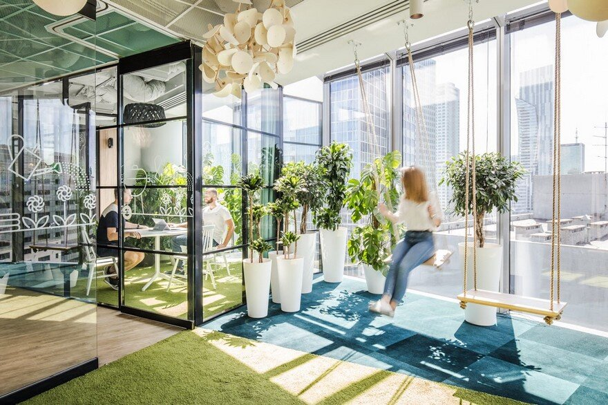 Allegro Office In Warsaw By Workplace Solutions