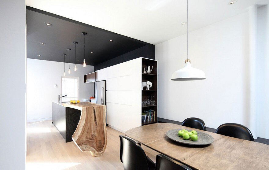 Bourdages-Cloutier Apartment in Montreal by ADHOC Architects