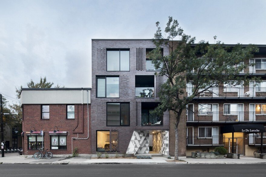 Contemporary Residential Building Of Five Housing Units