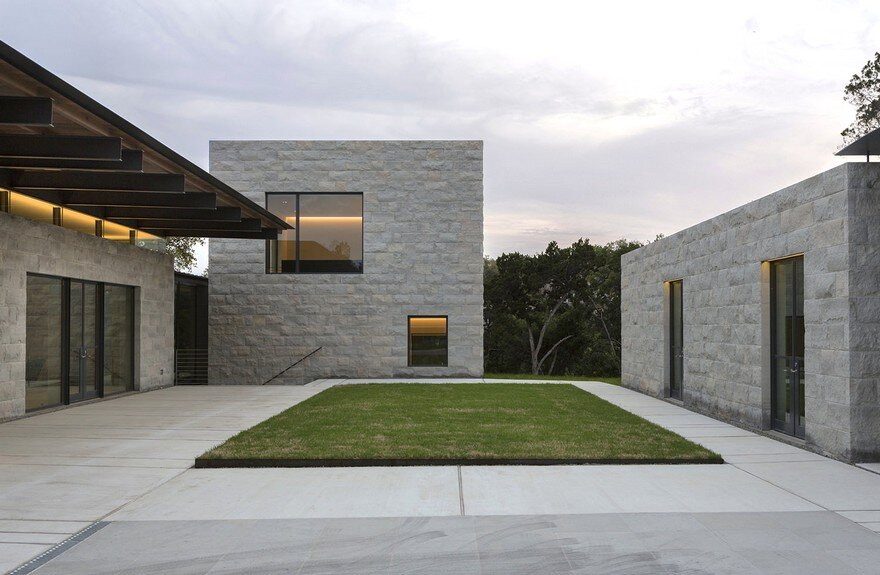 Exterior: Elegant Home With The Sensibilities Of An Art Museum