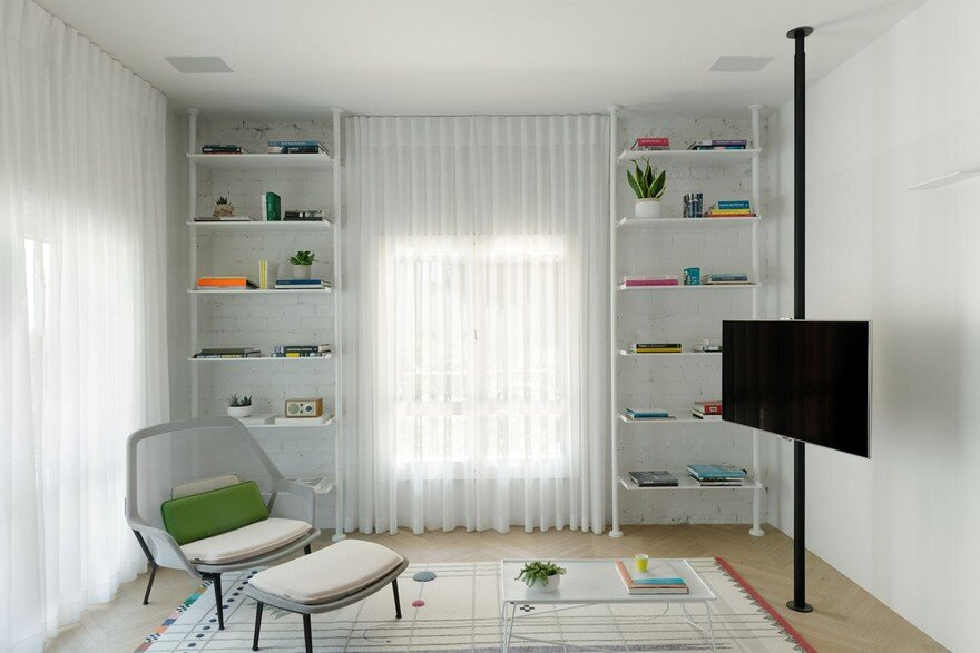 Family Apartment Renovation in a Preserved Bauhaus Building, Tel Aviv 11