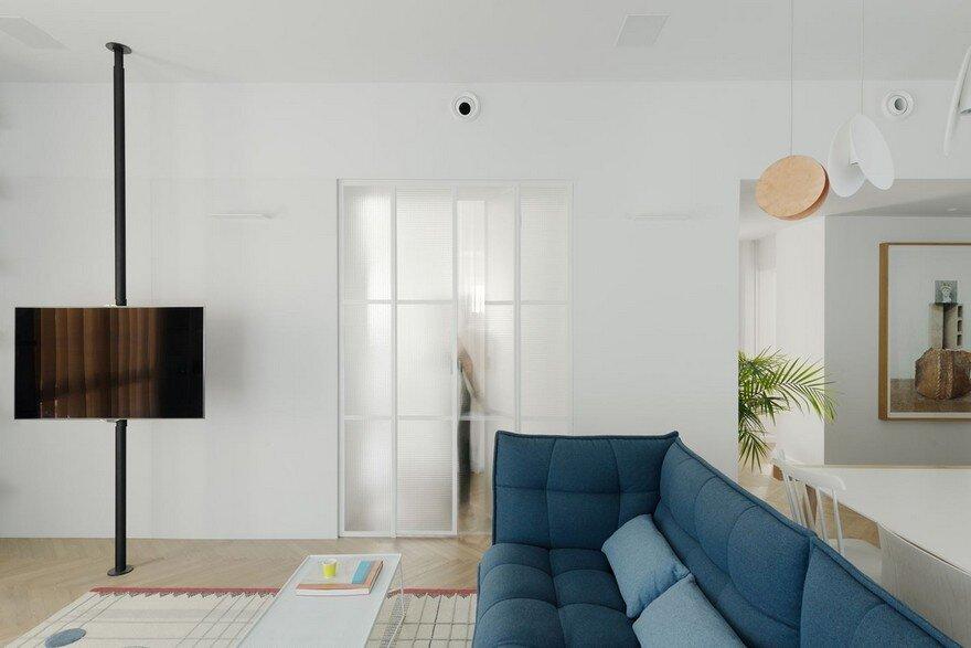 Family Apartment Renovation in a Preserved Bauhaus Building, Tel Aviv 5