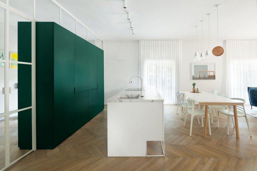 Family Apartment Renovation in a Preserved Bauhaus Building, Tel Aviv 2