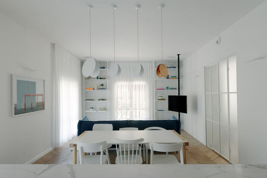 Family Apartment Renovation in a Preserved Bauhaus Building, Tel Aviv 10